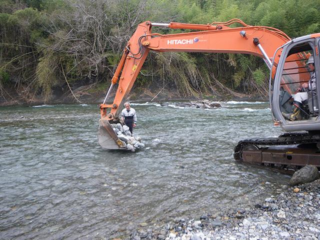荒川清流を守る会手伝い