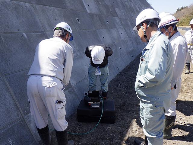 災害対策・水位置確認用スコープ導入